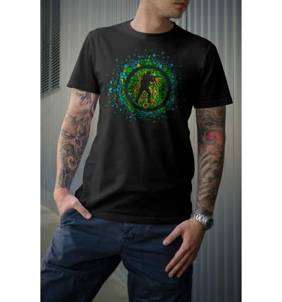 Мъжка тениска с щампа Counter Strike