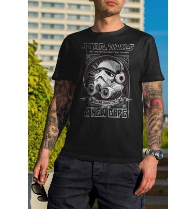 Мъжка тениска с щампа Star Wars