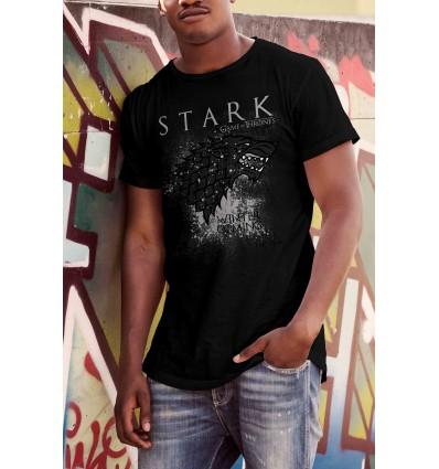 Мъжка тениска с щампа Game of Thrones Stark