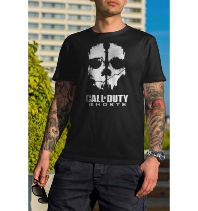 Мъжка тениска с щампа Call of Duty Ghosts