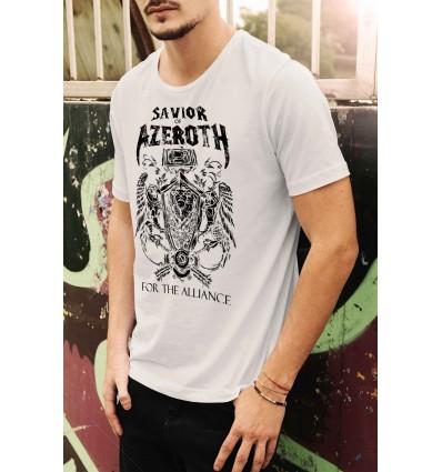 Мъжка тениска с щампа Savior of Azeroth