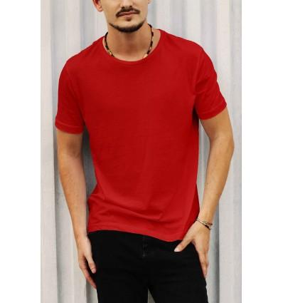 Тениска в червено