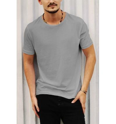 Тениска в сиво