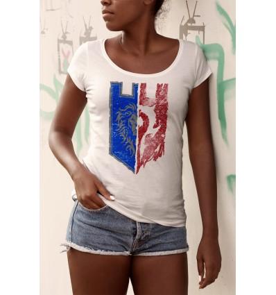 Дамска тениска с щампа Alliance vs Horde