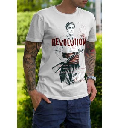 Мъжка тениска Vasil Levski Revolution 2