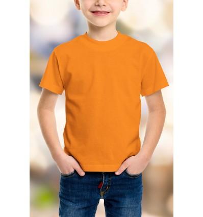Тениска в оранжево