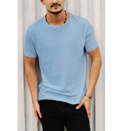Тениска в синьо