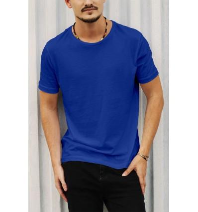 Тениска в турско синьо