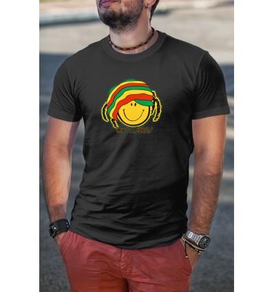 Мъжка тениска с щампа Smile Man