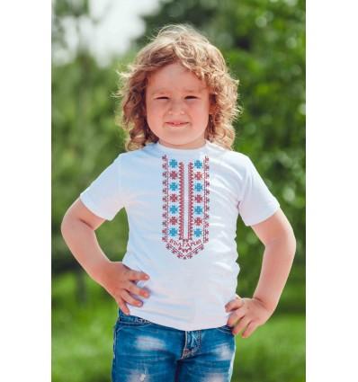 Детска тениска с щампа Тракийска шевица