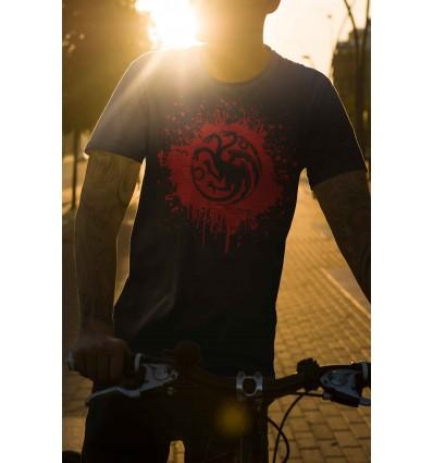 Мъжка тениска с щампа Game of Thrones Targaryen