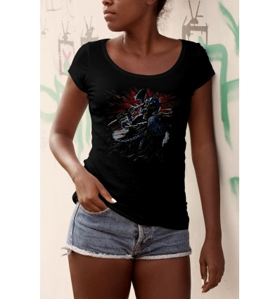 Дамска тениска с щампа Gladiator