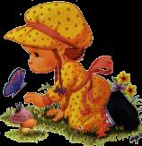 Little lady - butterfly